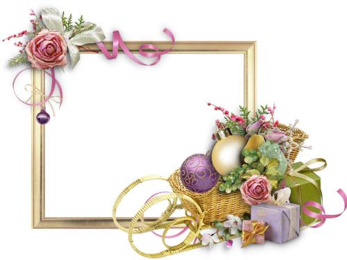 Подарочные рамки с поздравлением