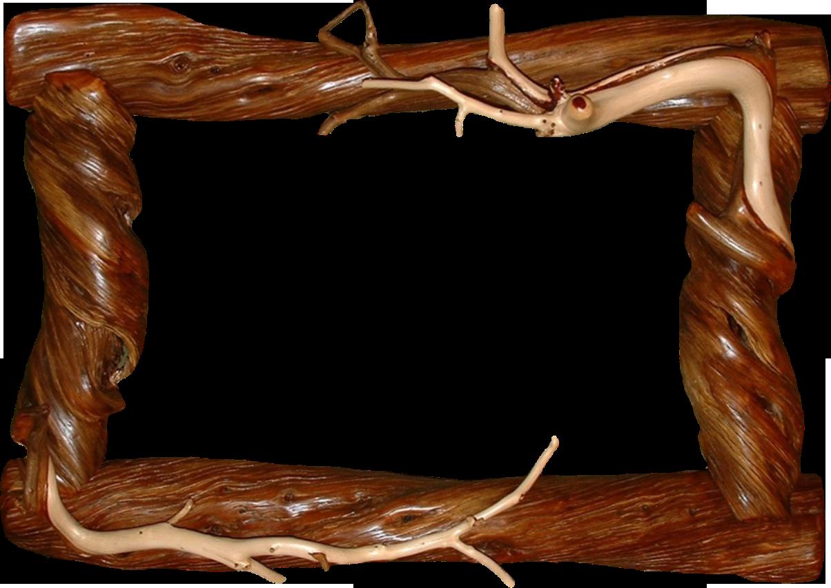 Оформление рамки из дерева 3